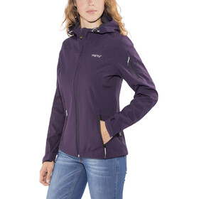 Meru Lahti Softshell Jacket Women purple